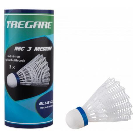 Tregare NSC 3 MEDIUM WHITE - Badminton-Federbälle