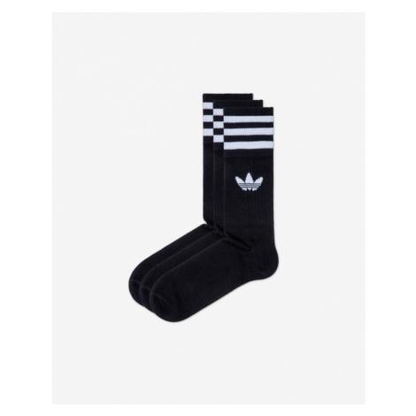 adidas Originals 3 Paar Socken Schwarz