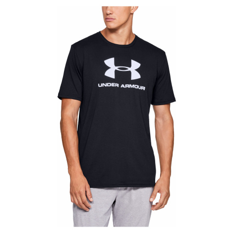 Under Armour Sportstyle Logo SS Black