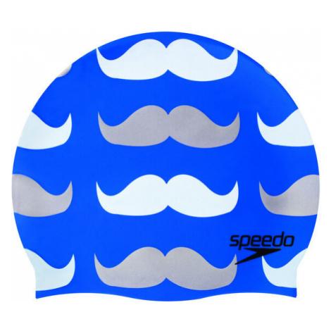 Speedo Kappe mit Slogan-Print, Blau