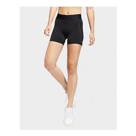 Adidas Techfit kurze Tight - Black / White - Damen, Black / White