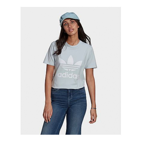 Adidas Originals Adicolor Classics Trefoil T-Shirt - Halo Blue - Damen, Halo Blue