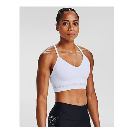 Under Armour Seamless Bra Damen - White - Damen, White