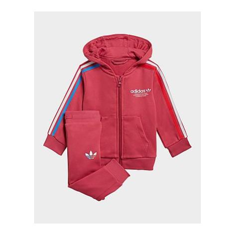 Adidas Originals Adicolor Full-Zip Hoodie-Set - Wild Pink, Wild Pink