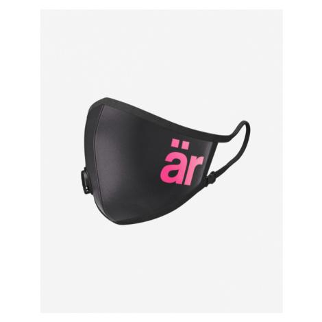 är Big Logo Mask with valve and nanofilter for children Schwarz