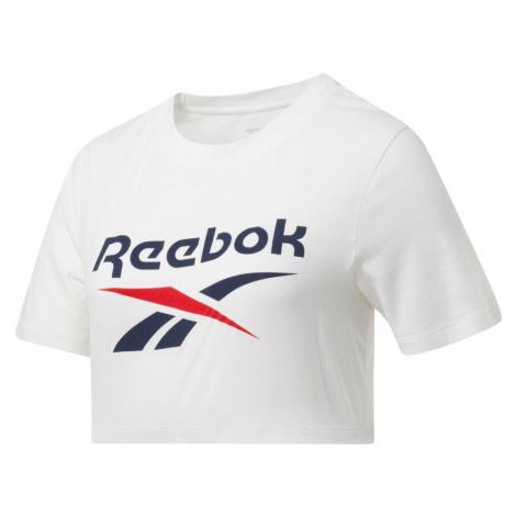 Ripped Crop T-Shirt Reebok