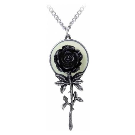 Anhänger mit Halskette ALCHEMY GOTHIC - Luna Rose - P849