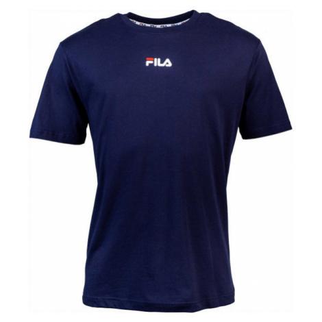 Fila BENDER TEE dunkelblau - Herren Shirt