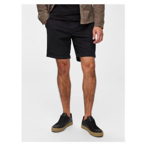 Selected Homme Paris Shorts Schwarz