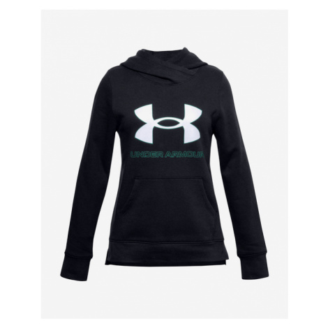 Under Armour Rival Fleece Logo Sweatshirt Kinder Schwarz