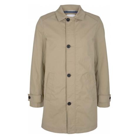 TOM TAILOR Herren kurzer Mantel aus Twill, beige