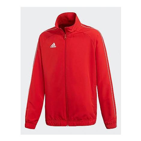 Adidas Core 18 Präsentationsjacke - Power Red / White, Power Red / White