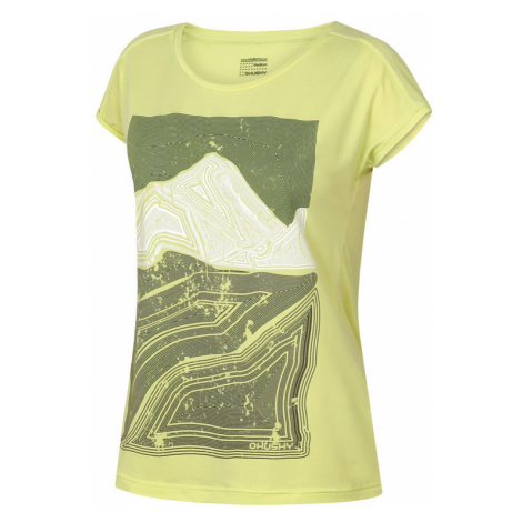 Damen T-Shirt Husky Tash L hell. green