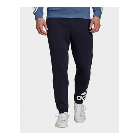 Adidas Essentials French Terry Tapered Cuff Logo Hose - Legend Ink / White - Herren, Legend Ink