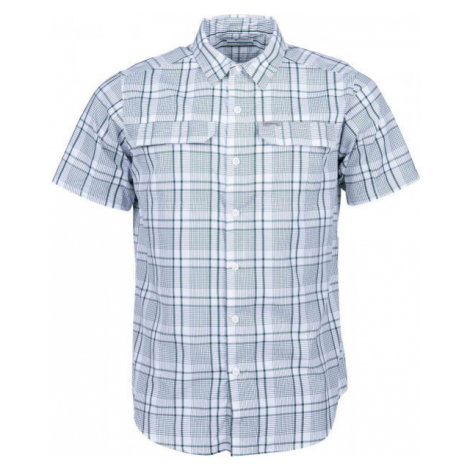 Columbia SILVER RIDGE 2.0 MULTI PLAID SS SHIRT grau - Herrenhemd mit kurzen Ärmeln
