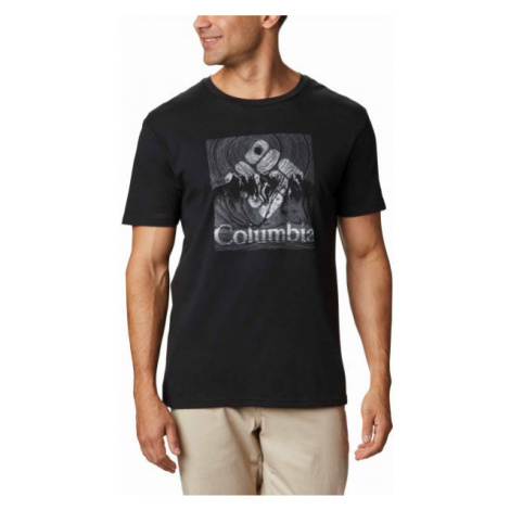 Columbia BASIN BUTTE SS GRAPHIC TEE - Herren Shirt