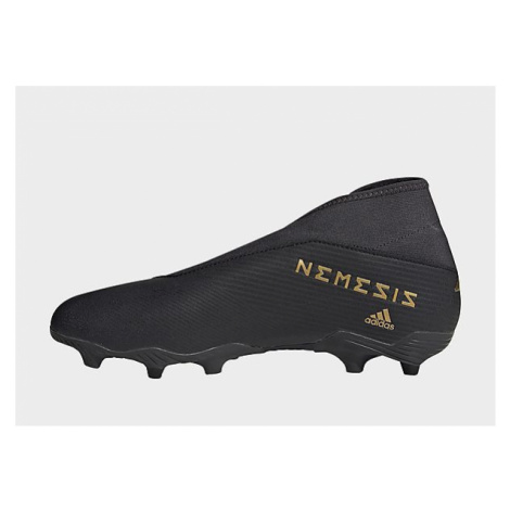 Adidas Nemeziz 19.3 FG Fußballschuh - Core Black / Gold Met. / Utility Black - Damen, Core Black