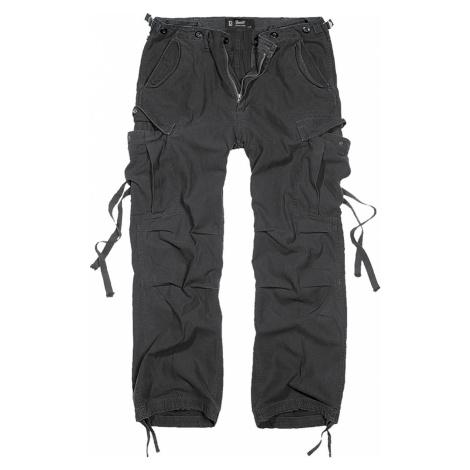 Herren Hose BRANDIT - M65 Vintage Trouser Black - 1001/2