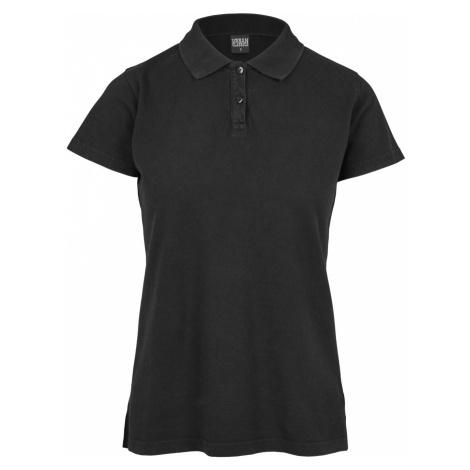 Urban Classics Damen Poloshirt Wash Polo