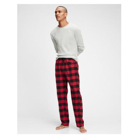 GAP Sleeping pants Schwarz Rot