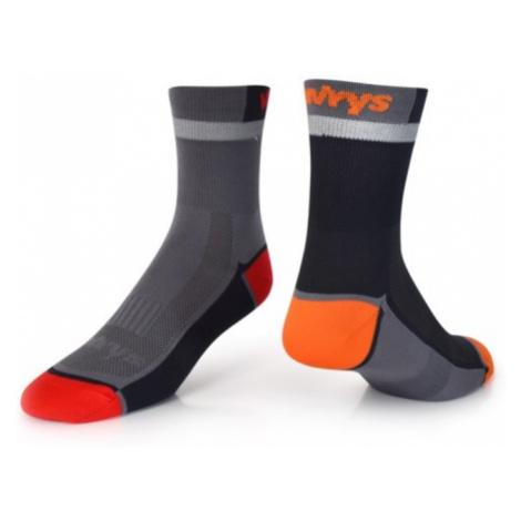 Socken VAVRYS CYKLO 2020 2-pa 46220-700 grey