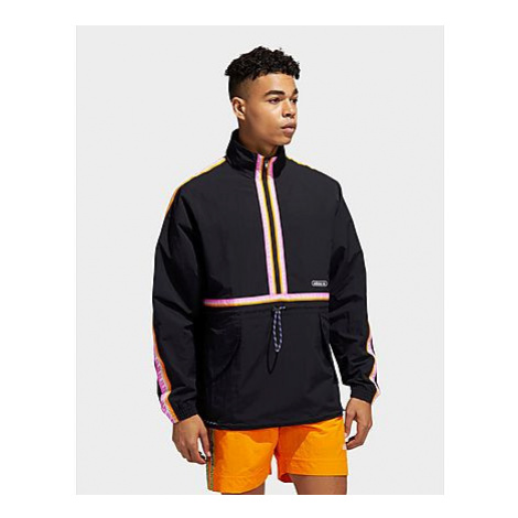 Adidas Originals Taped Windbreaker - Black - Herren, Black