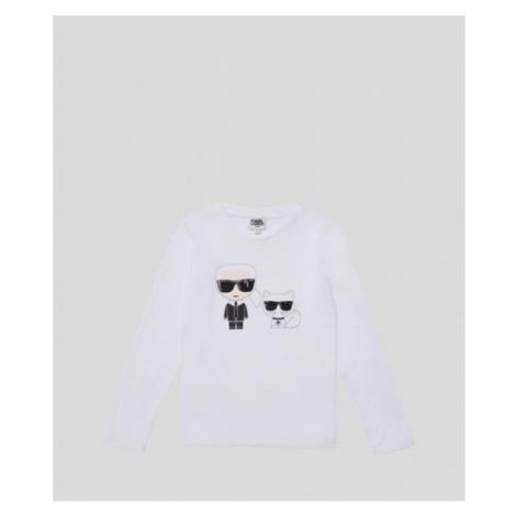 Karl + Choupette Langärmliges Shirt Karl Lagerfeld