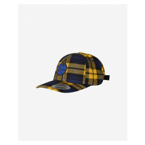 O'Neill Check Cap Blau Gelb