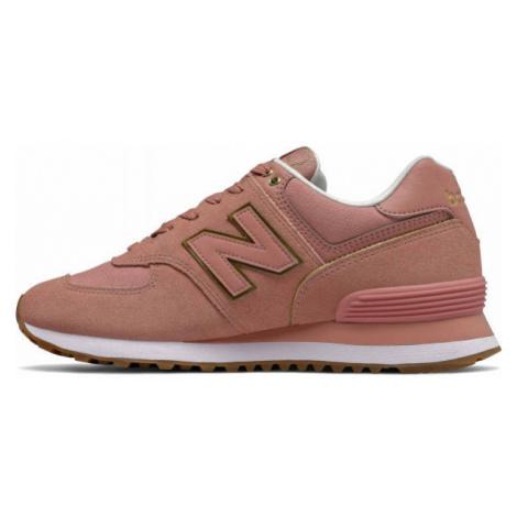 New Balance WL574SOB rosa - Damen Sneaker
