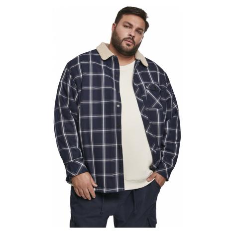 Urban Classics Herren Sherpa Lined Shirt Jacket