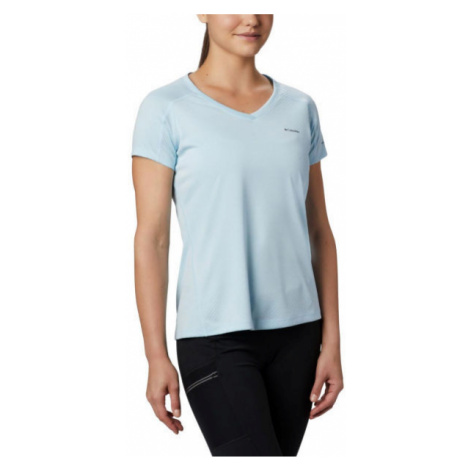Columbia ZERO RULES SHORT SLEEVE SHIRT blau - Damen Shirt