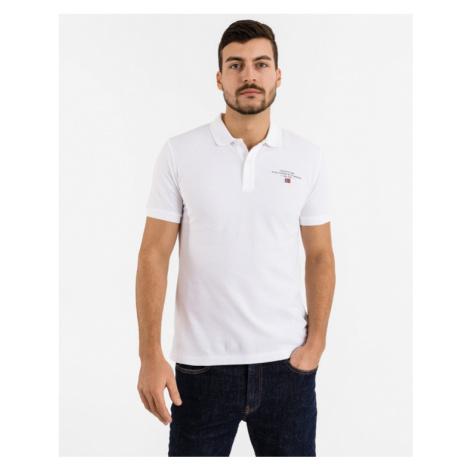 Napapijri Elbas Polo T-Shirt Weiß