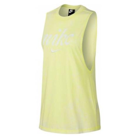 Nike NSW TANK WSH gelb - Damen Tank Top