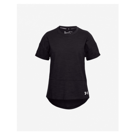 Under Armour Charged Cotton® Kinder  T‑Shirt Schwarz