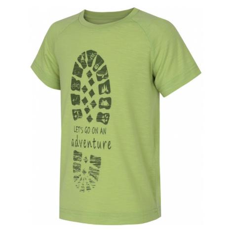 Kinder T-Shirt Husky Zingl Kids hell. green