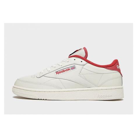 Reebok club c 85 shoes - Chalk / Mars Red / Chalk - Damen, Chalk / Mars Red / Chalk