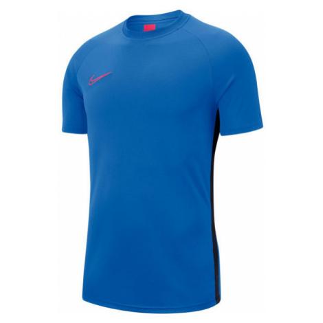 Nike DRY ACDMY TOP SS M blau - Herren Fußballshirt