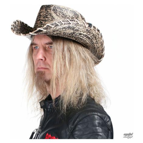 Hut WORNSTAR - Hellrider HS Black & Natural Rocker Cowboy - WSH-104-HDNKHS