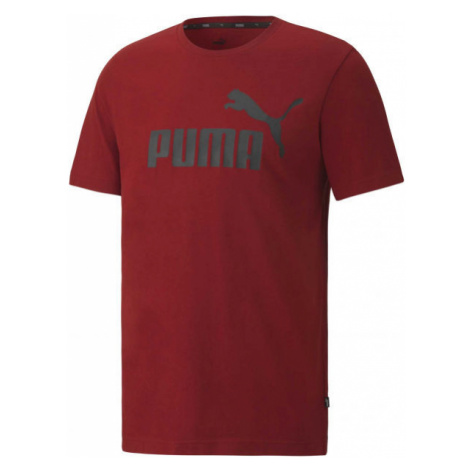 Puma ESS LOGO TEE rot - Herrenshirt