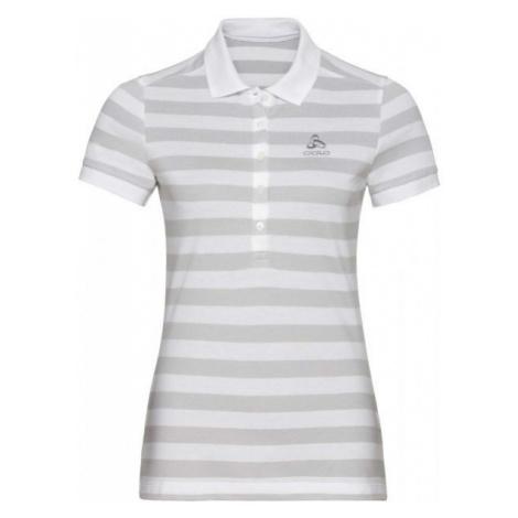 Odlo WOMEN'S T-SHIRT POLO S/S CONCORD weiß - Damen Shirt