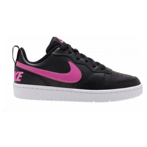 Nike COURT BOROUGH LOW 2 GS weiß - Kinder Sneaker