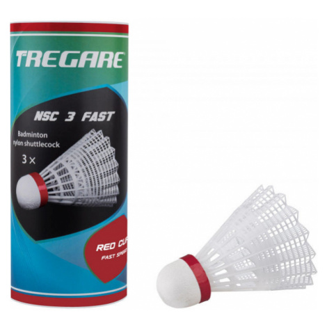 Tregare NSC 3 FAST WHITE - Badminton-Federbälle