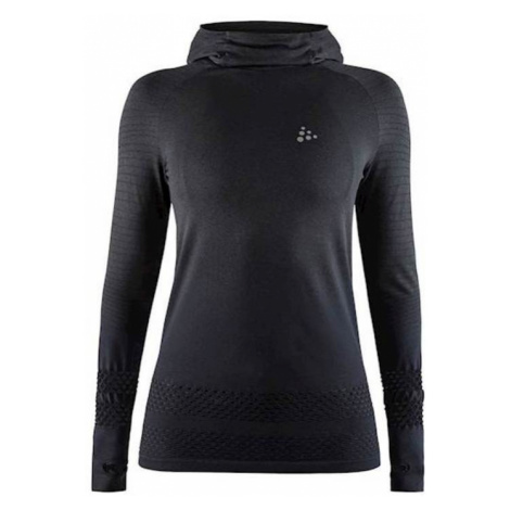 Sweatshirt CRAFT Core Sicherungsstrick Hoo 1906806-998000 - black