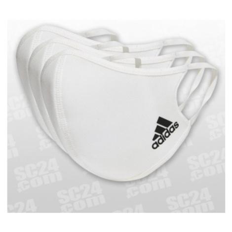 Adidas Face Cover weiss Größe M/L