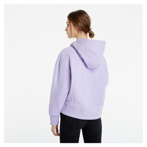 Calvin Klein Jeans Micro Branding Hoodie Palma Lilac