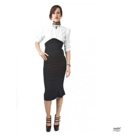 Damen Rock NECESSARY EVIL - Lyssa High Waisted - Black - N1128 XL