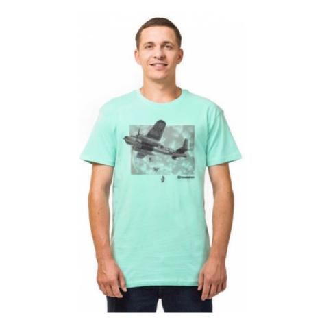 Horsefeathers BOMBER T-SHIRT blau - Herren T- Shirt