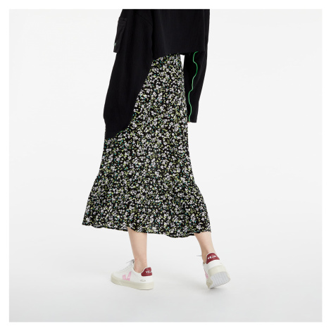 Tommy Jeans Tiered Floral Midi Skirt Floral Print Tommy Hilfiger