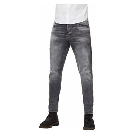 G-Star Herren Jeans Scutar 3D Slim Tapered - Grau - Vintage Basalt G-Star Raw