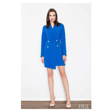 Damen Mäntel M447 blue Figl